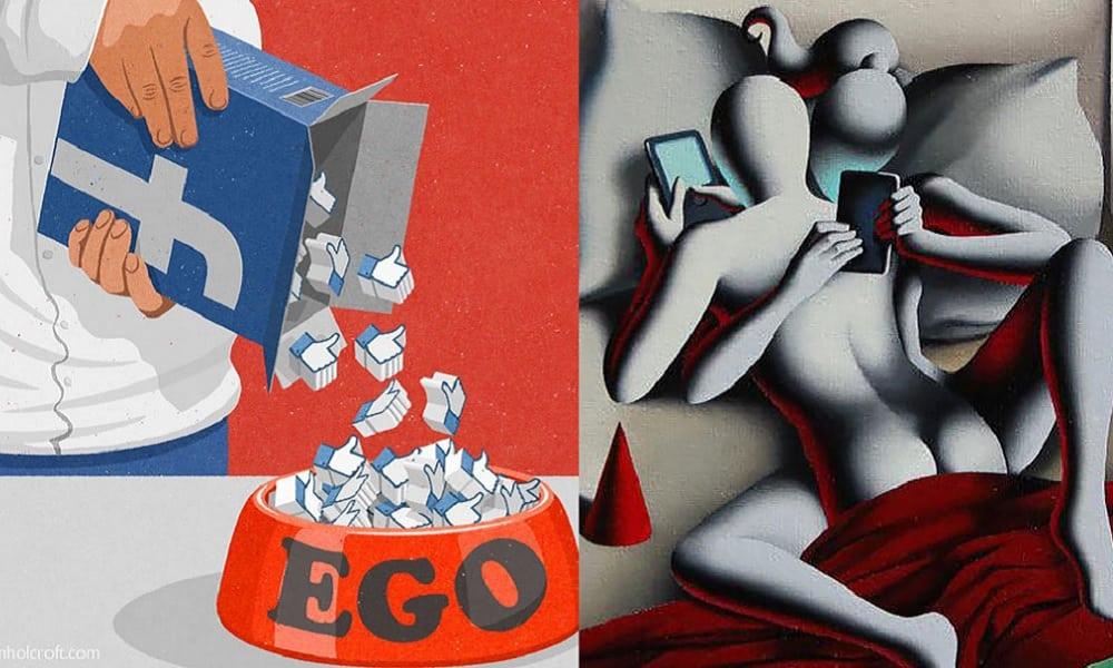 17 ilustrações sobre o que as redes sociais nos transformou