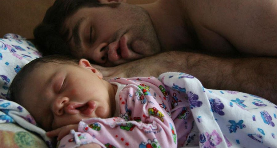 13 imagens adoráveis provam o quanto pais e filhos se parecem