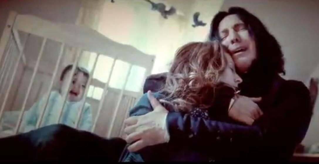 Ver as cenas de Snape em ordem cronológica vai partir seu coração!