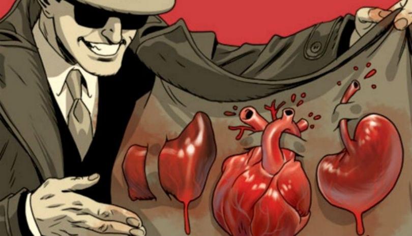 Preços de 15 órgãos humanos no mercado negro