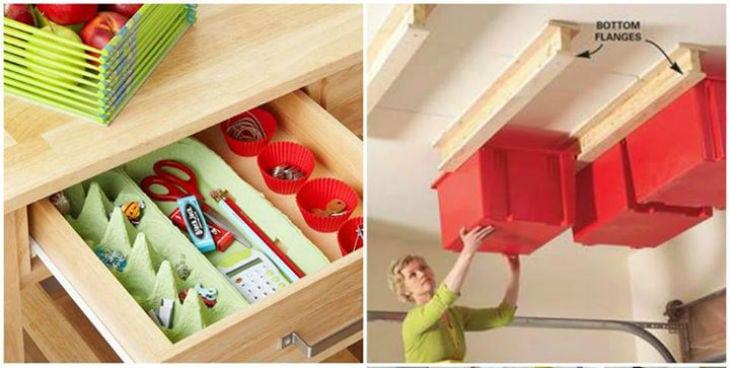 30 truques para organizar sua casa e ganhar mais espaço