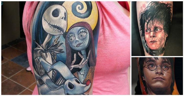 18 incríveis tatuagens inspiradas em filmes