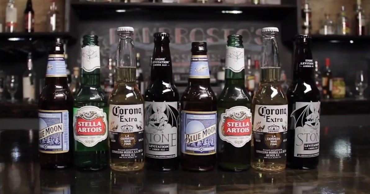 7 truques com cerveja e garrafas de cerveja