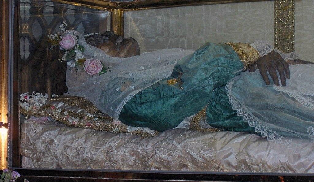 5 cadáveres humanos que jamais entraram em decomposição