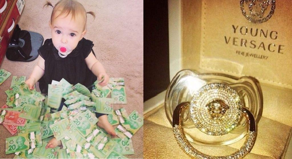 10 bebês ricos que ostentam no Instagram