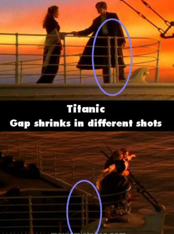 17 erros de Titanic que você não viu