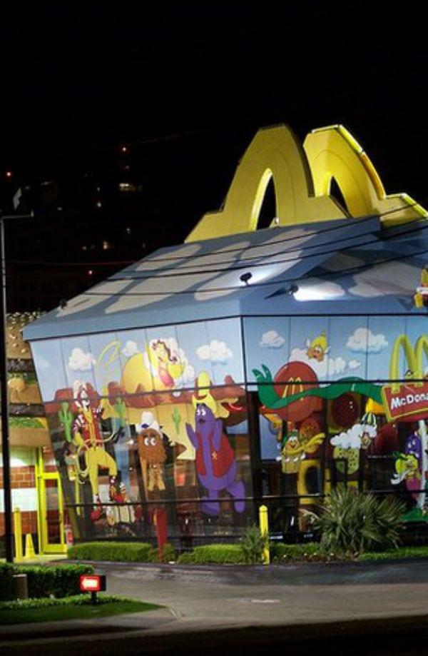 12 lojas do McDonald's mais incríveis do mundo