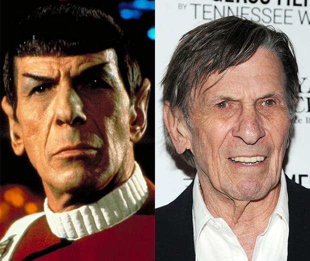 Veja o antes e o depois do elenco de Star Trek