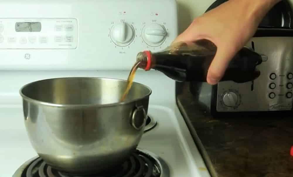 O que acontece se você ferver Coca-cola?