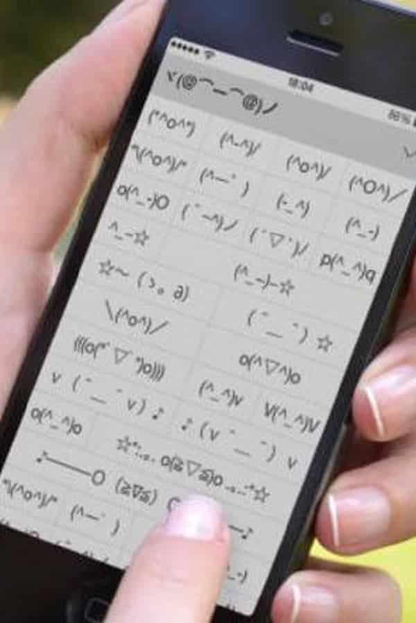 Descubra o teclado de emoticons escondido em seu iPhone