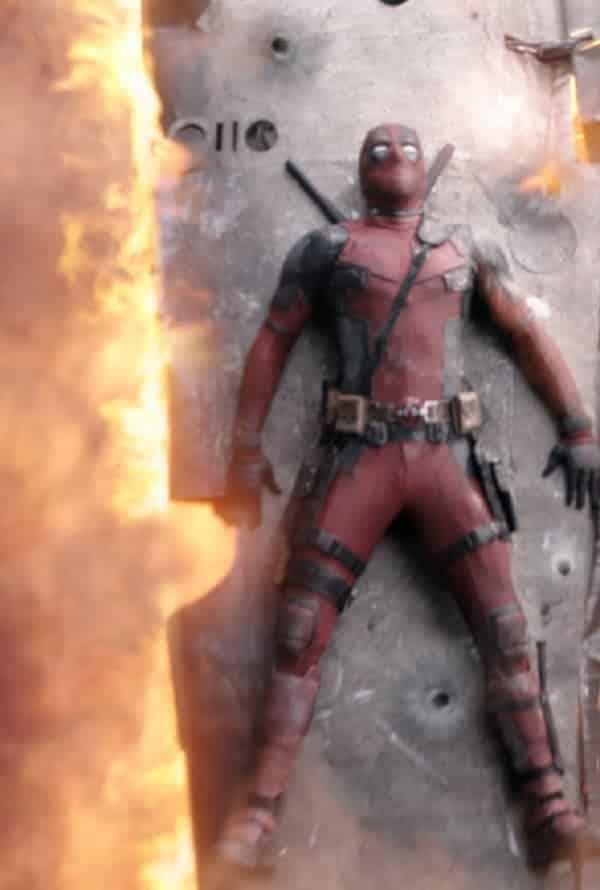 Cenas de Deadpool antes e depois dos efeitos especiais