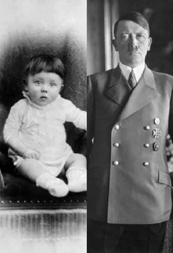 Fotos de infância de 13 figuras mais malignas da História