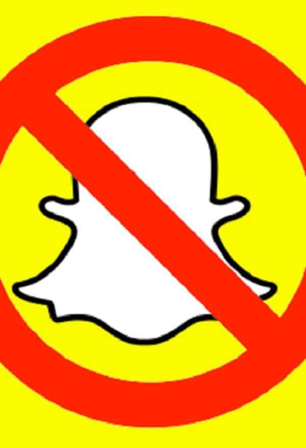 5 razões para não usar o Snapchat outra vez