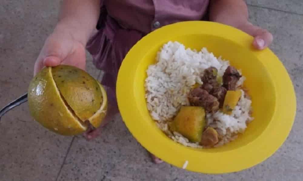 Veja como é a merenda das escolas públicas pelo Brasil