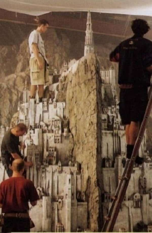12 maquetes do cinema que todos pensam ser grandes cenários