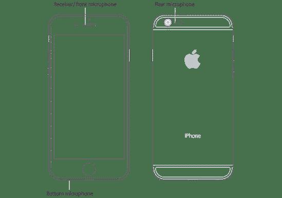 O que é aquele buraquinho do iPhone, ao lado da câmera?