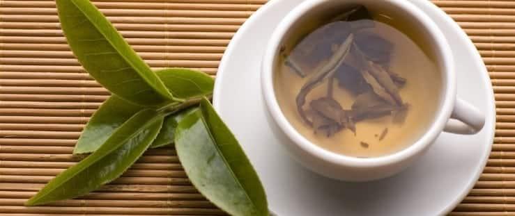 Fotografia de chá natural