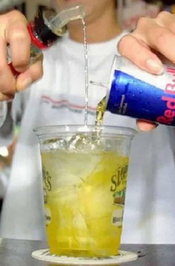 Misturar álcool e energético pode intoxicar você!
