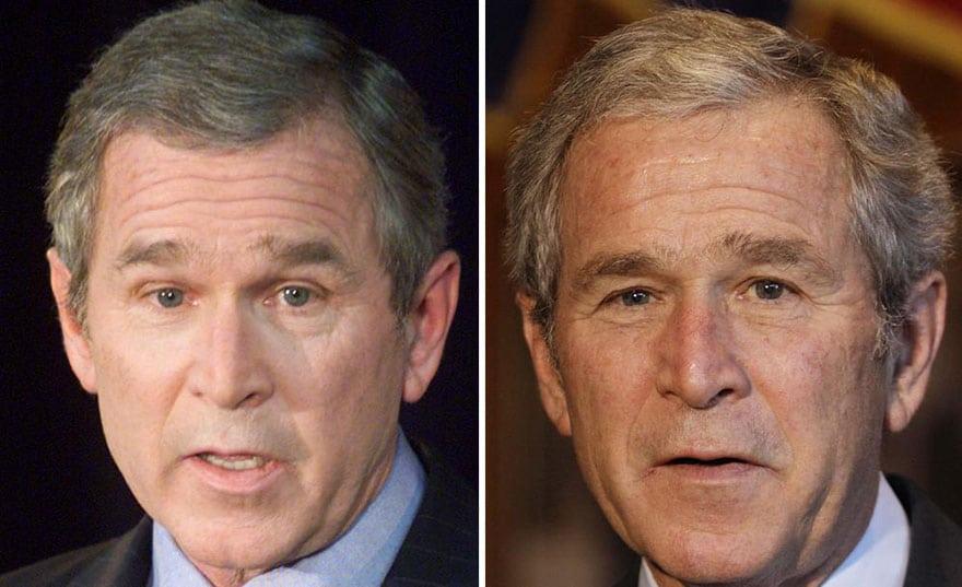 A Aparencia De 11 Presidentes Antes E Depois De Seus Mandatos Segredos Do Mundo