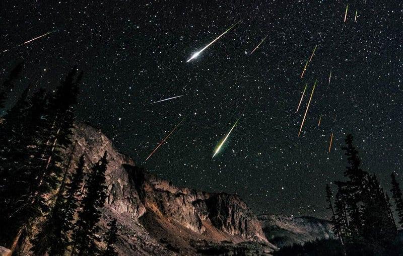 Resultado de imagem para chuvas de meteoros gif