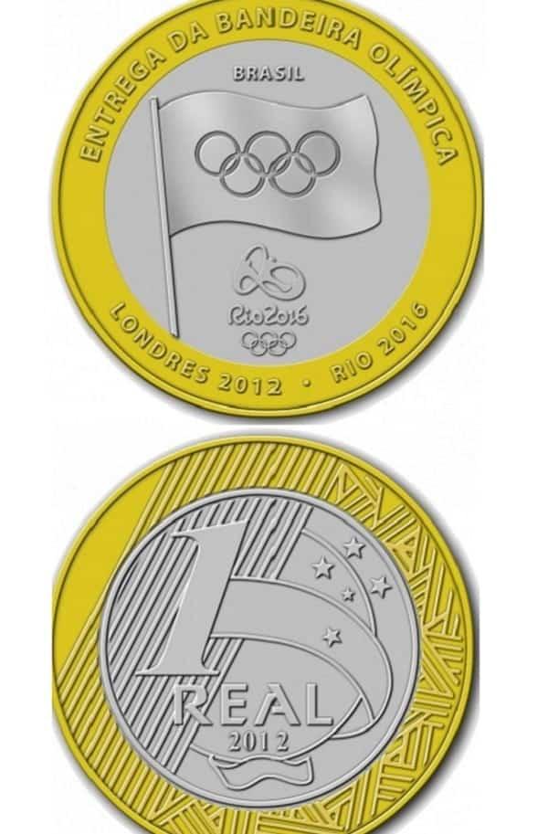 Quanto valem as moedas olímpicas dos Jogos do Rio 2016?