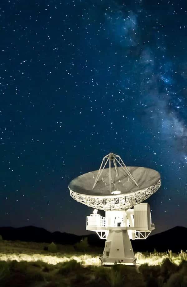 Cientistas captam sinal de rádio vindo de estrela a 95 anos-luz