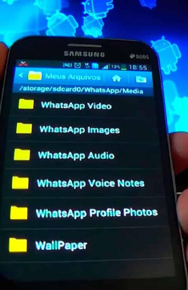 Como evitar que fotos e vídeos do WhatsApp vão para o celular