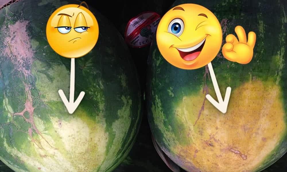 Como escolher melancia madura e doce