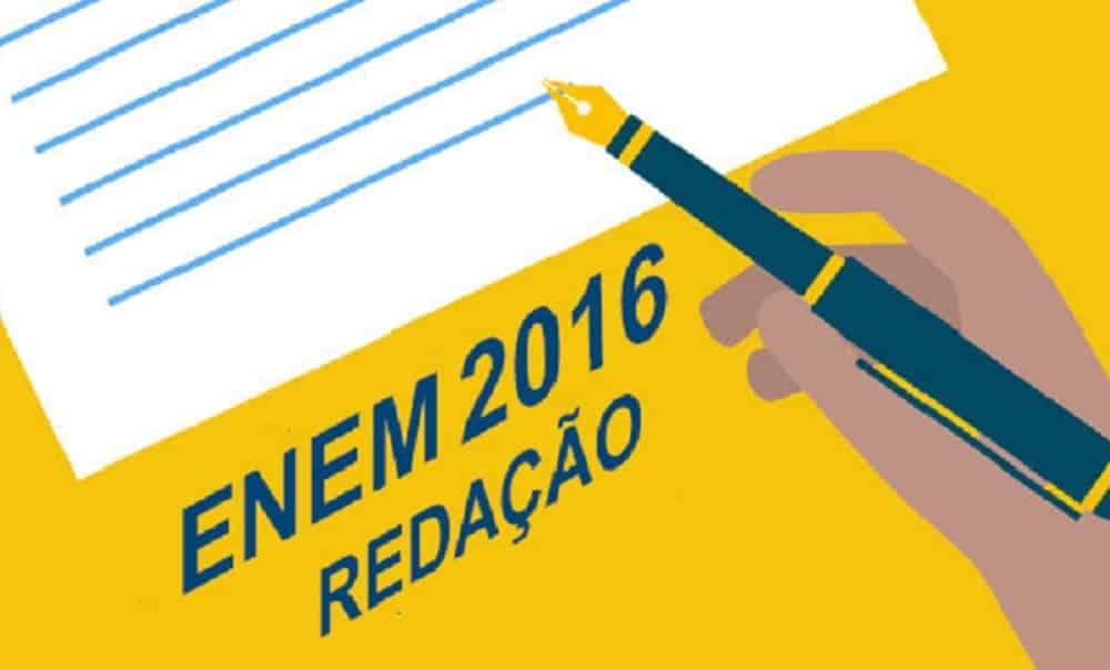 9 possíveis temas da redação do Enem 2016