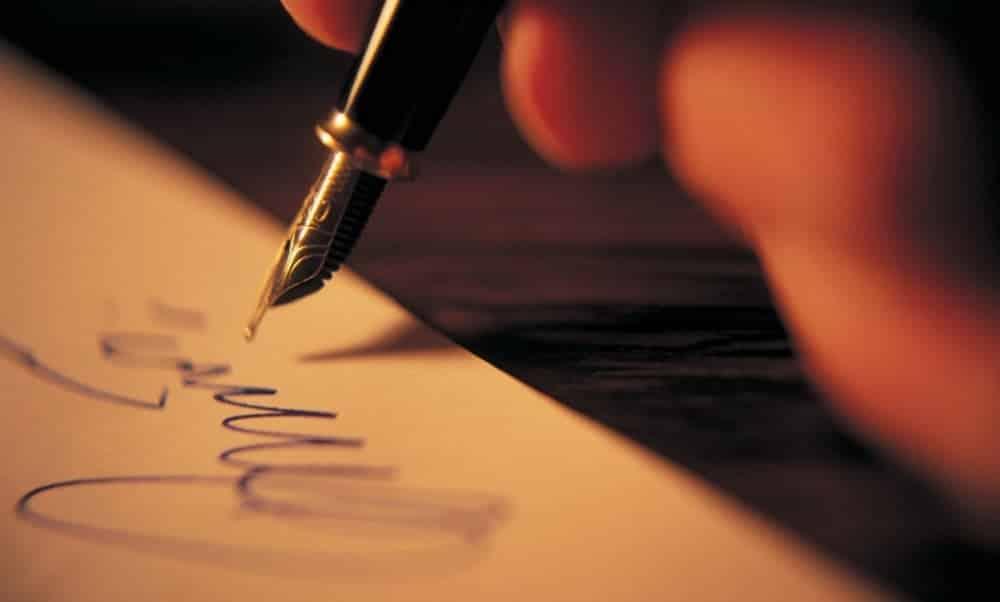 Sua assinatura pode revelar se você é uma pessoa autoconfiante