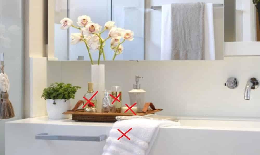 10 coisas que você precisa tirar do banheiro agora mesmo