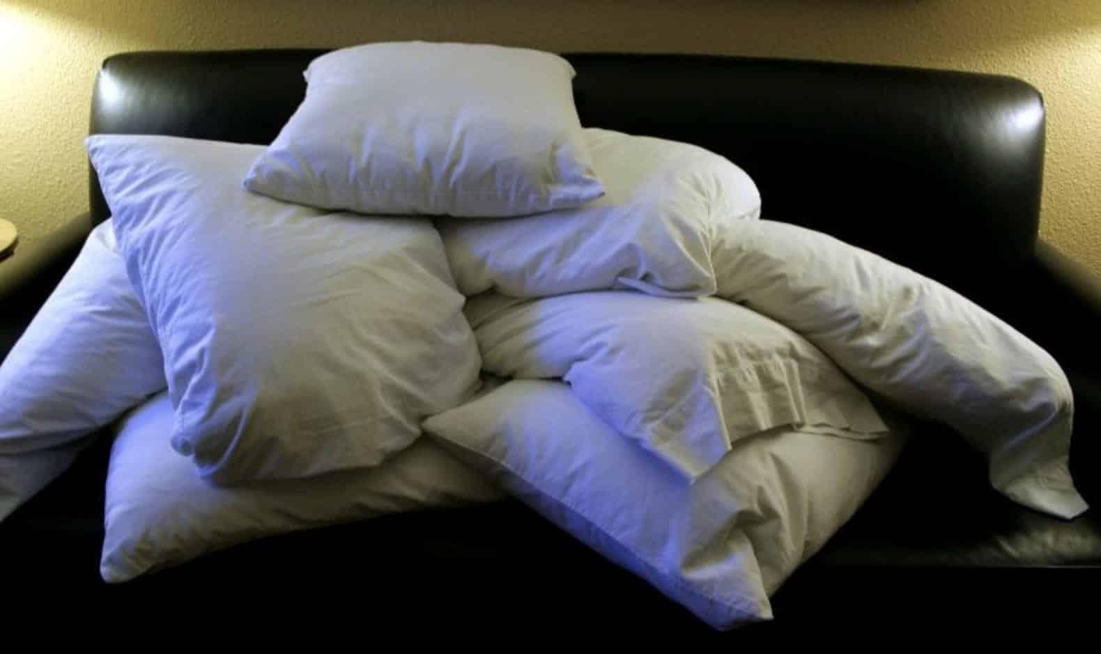 Ácaros pode representar um terço do peso do seu travesseiro
