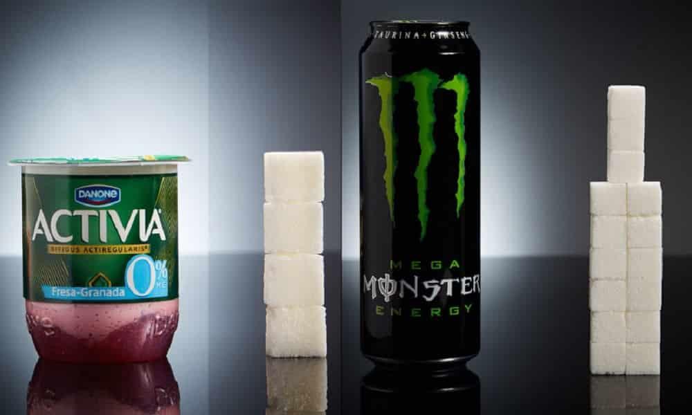 Essa é a quantidade de açúcar presente nos alimentos que você come todos os dias
