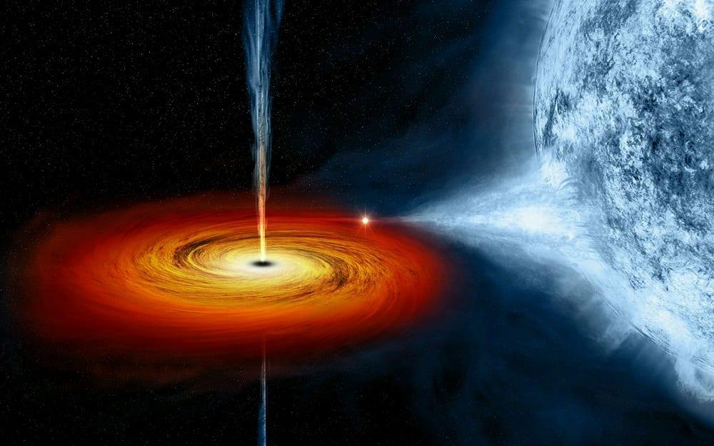 Buraco negro pode engolir um planeta? E o que acontece com o planeta?