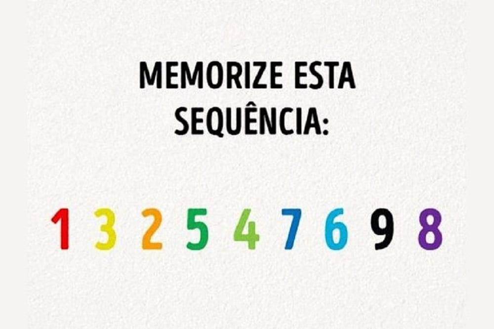 Memorização – Será que você é bom nisso? [teste]