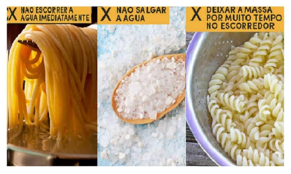 12 erros que todo mundo comete ao fazer macarrão