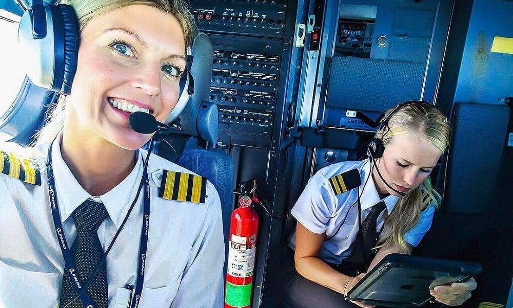 6 pilotas de avião que estão fazendo sucesso no Instagram