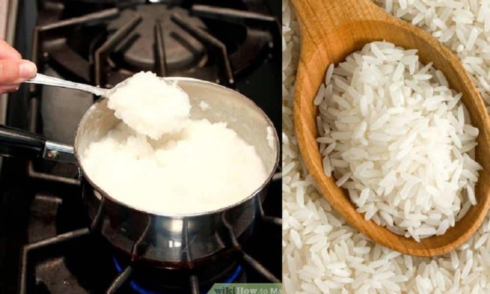 Como fazer cola de papel em casa, usando arroz branco