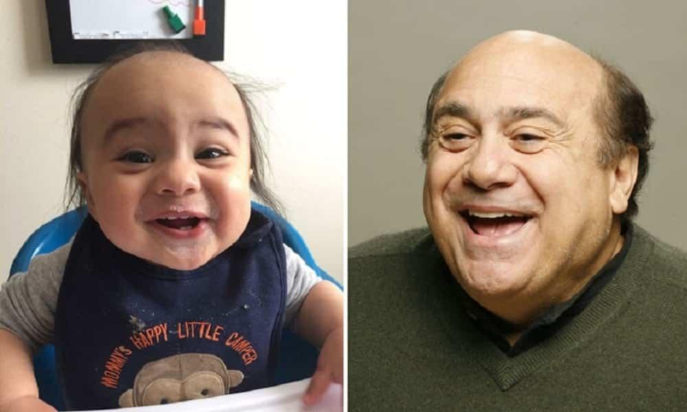 13 bebês que são ridiculamente parecidos com os famosos