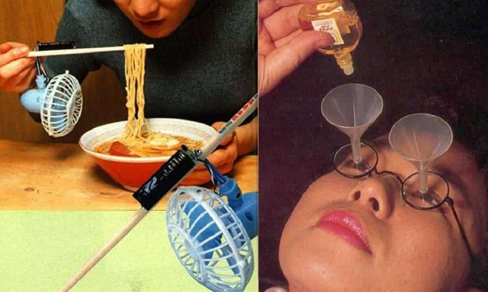 14 invenções japonesas tão bizarras que você vai querer testá-las