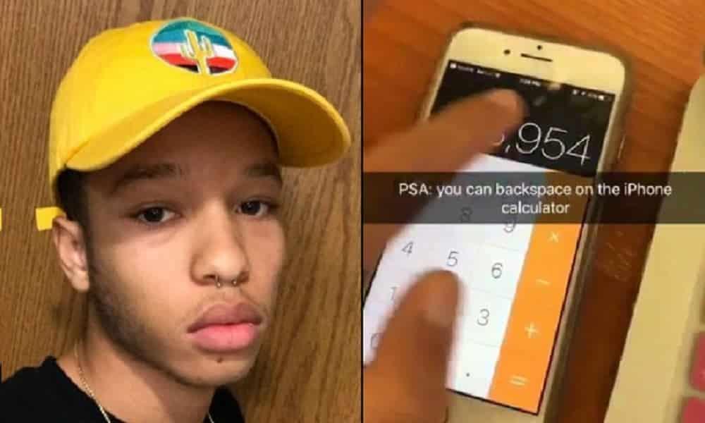 Esse cara descobriu um recurso oculto na calculadora do iPhone