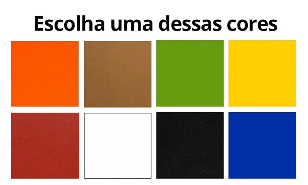 Qual das cores você prefere? Escolha sem pensar e saiba o que significa