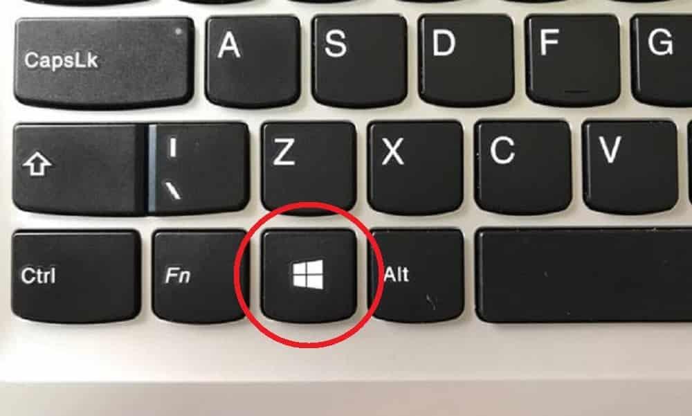 Para que serve o botão Windows do seu teclado?
