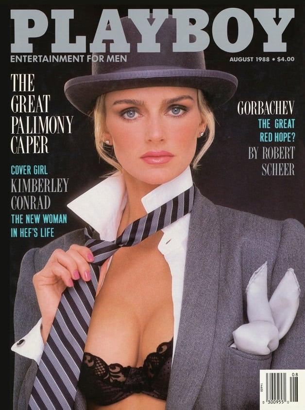 Modelos recriam capas da revista Playboy que