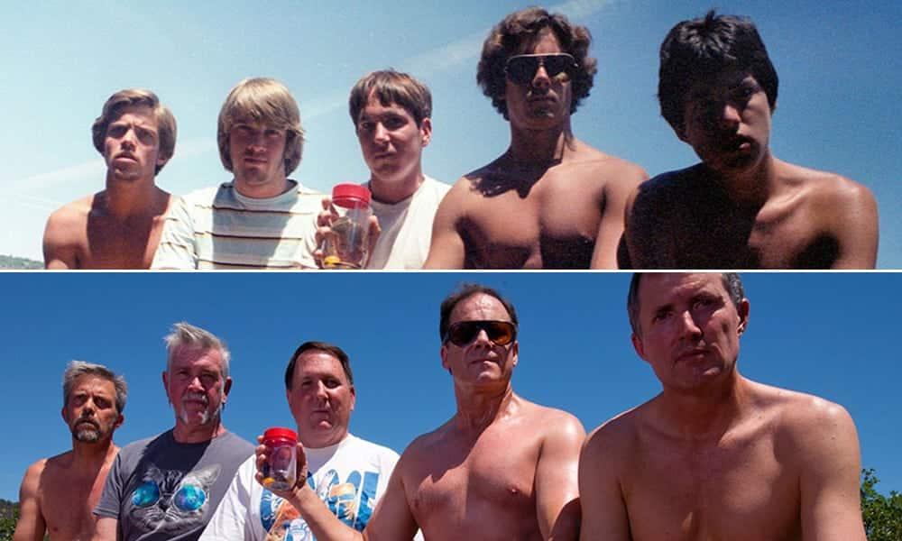 Grupo de amigos tira a mesma foto há 35 anos e viralizam na internet
