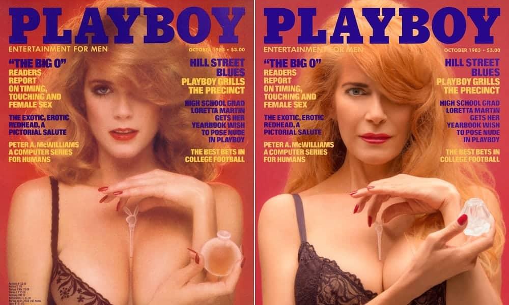 Modelos recriam capas da revista Playboy que protagonizaram há 30 anos