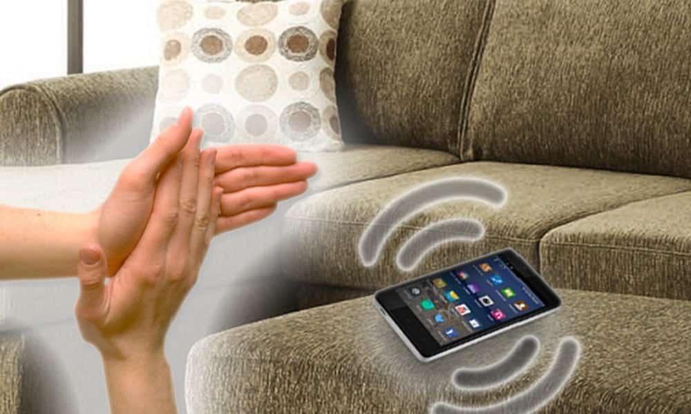 Como encontrar o celular batendo palmas