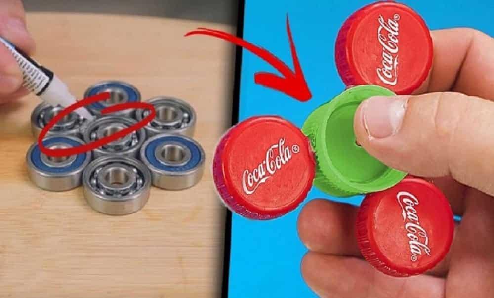 Como fazer seu próprio spinner, o brinquedo do momento