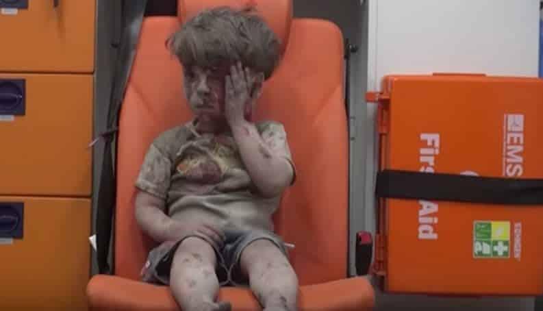 Veja o que aconteceu com o garoto que se tornou símbolo da Guerra na Síria