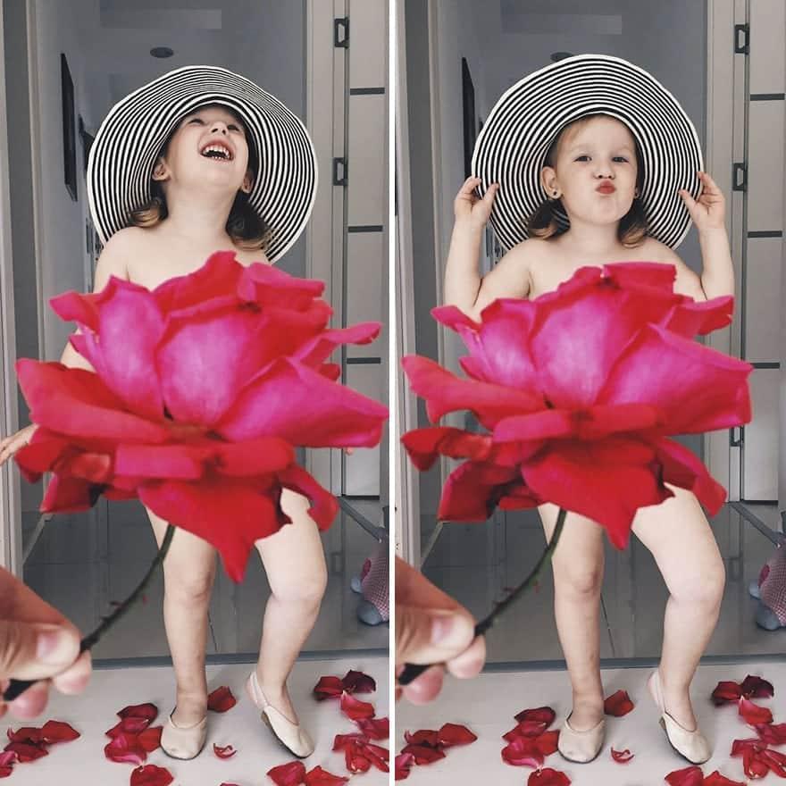 mae-filha-fotos-vestir-vegetais-frutas-perspectiva-fofo16